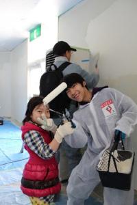 塗装ボランティア