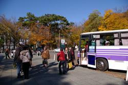 秋のバスツアーが行われました