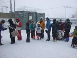 旭山動物園ペンギン雪像コンテスト