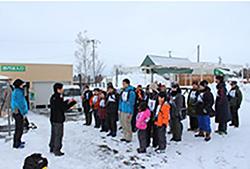 雪中撮影教室