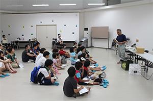 夏の施設見学会